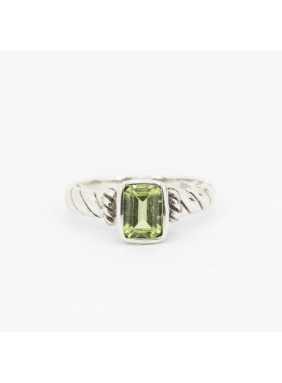 925 STERLING SILVER AND OLIVINE Jewelry