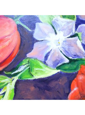 VINCA AND TULIPS Pictures