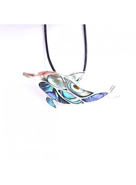 PENDANT 925 STERLING SILVER AND ABALONE Jewelry